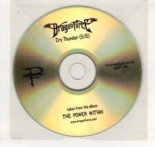 (HN632) Dragon Force, Cry Thunder - DJ CD