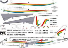 Tibet Airlines Airbus A-319 decals for Revell 1/144 kit