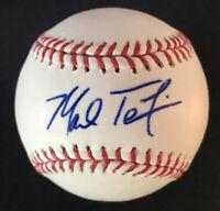 Mark Teixeira New York Yankees Rangers Autographed Signed Baseball JSA COA *MINT