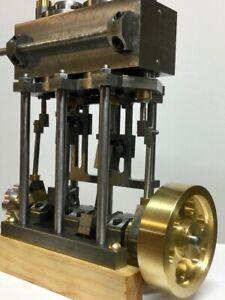 Steam Engine Plan Set Model Marine