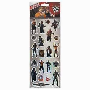 WWE Fun Stickers Children Birthday Party Loot Bag Fillers Decorating