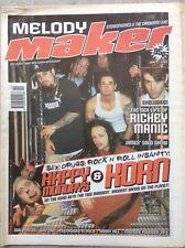 Melody Maker 15/5/99 Korn, Happy Mondays, Korn, Skunk Anansie, Richey Edwards