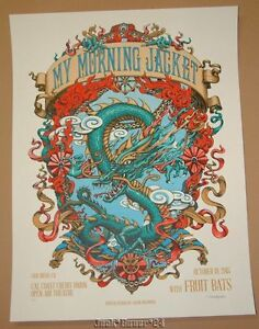 My Morning Jacket Jason Brammer San Diego Poster Print Signed AP Artist Proof