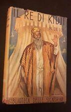 I ROMANZI DELLA ROSA BIBLIOTECA DELLE SIGNORINE IL RE DI KIDJI N 73 1940