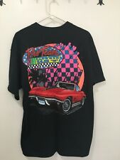 Chevrolet Corvette Size L Black w/Graphic T-Shirt **New With Tag**