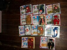 McDonald's Book Teenie Beanie Babies 2000 full Set of 11 NIB