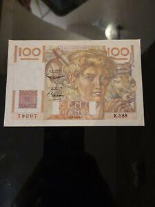 Billet France 100 francs paysans 4.3.1954 ttb