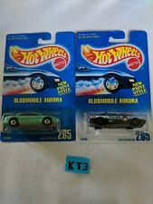 Hot Wheels Lot Of 2/ 2 Versions Oldsmobile Aurora #265 (Kt3)