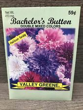 Bachelor's Button Double Mixed Colors 450 mg 1 Seed Pack