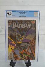 DC DETECTIVE COMICS BATMAN THE BEGINNING OF TOMORROW #0 1994 CGC 9.2