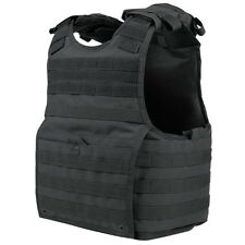 Condor XPC BLACK EXO MOLLE Infantry Armor Plate Carrier Tactical Vest LARGE