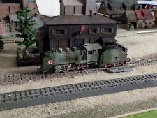 MARKLIN - Märklin 3003, WWII MILITARY STEAM ENGINE 24058, SCALE HO