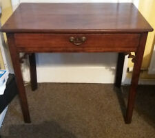 VM7) Antique ?18th/19thc? wooden table w 1 drawer (no key) - needs attention