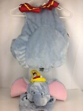 Disney Store Dumbo & Timothy Complete Halloween Costume Infant Toddler 12-18 Mos