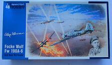 Special Hobby 1:48 Focke Wulf Fw 190A-6 Ace Hajo Herrmann Model Kit #RK001