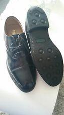 Mens Loake 805 model black leather shoes size 9.5