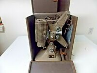 Vintage Keystone 8mm Movie Projector Model K-108 with hard carrying case Working