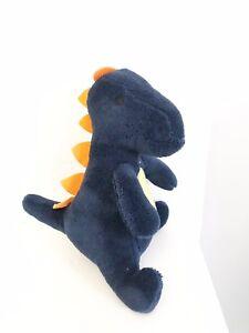 Matalan Navy Blue Dinosaur Dino Soft Toy Comforter