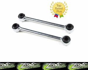 "Zone Offroad 4"" Front Sway Bar Links fits Lift Kit for 1976-83 Jeep Wrangler CJ5"