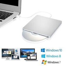 USB External Slot CD-RW DVD-RW Drive Ultra Slim Player Burner Writer For Macbook
