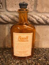 Orange Royall Mandarin All Purpose Lotion Bottle 8oz. Empty