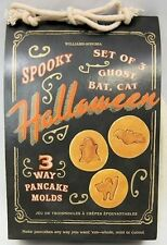 Spooky Halloween  3 pc Large Size Pancake Molds from William-Sonoma #9301581