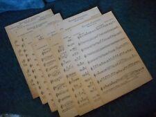 """Partitions pour orchestre """" Moment d'acalmie"""" Raphael Ascione Casino Cannes"""