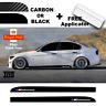 BMW E90 E91 E92 3 Series M Performance Side Skirt 3D Carbon Sticker Decal Livery