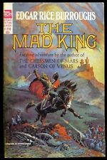 Edgar Rice Burroughs - The Mad King - Ace Paperback 1st PRINT 1964