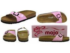 Sandalias y chanclas de mujer planos rosa, talla 37