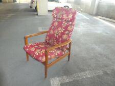 Mid Century Modern Swedish Dux Folke Ohlsson Lounge Chair