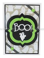 HANDMADE HALLOWEEN CARD SPOOKY BOO GHOSTS NEW MORE CRAFT & HALLOWEEN IN OUR SHOP