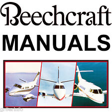 beechcraft aviation repair manuals literature ebay rh ebay ca Beechcraft Bonanza G35 Beechcraft Bonanza Interior