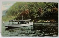 Pennsylvania Delaware Water Gap Pa., The Launch, Boat Sightseeing Postcard C5