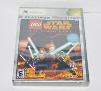 LEGO Star Wars The Video Game Microsoft Xbox 2005 Brand New Y-Fold Sealed Rare