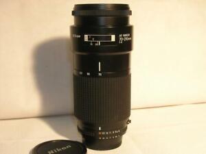 Mint- Nikon AF Nikkor 70-210mm F4 FX Full-Frame Auto Focus Lens