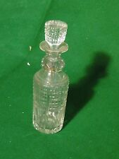 More details for large antique perfume bottle cut crsytal, french, 1880, nice piece