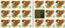 UNITED STATES BOOKLET :1992 $5  'Green' Eagle s/adhesive Scott #2596a unm mint