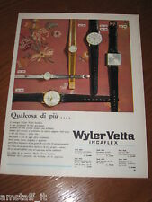 AC1=1963=WYLER VETTA OROLOGIO WATCH=PUBBLICITA'=ADVERTISING=WERBUNG=