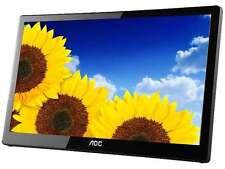 "AOC e1659Fwu 15.6"" USB 3.0 Powered Portable monitor w/ case"