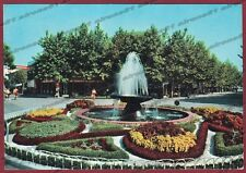 UDINE LIGNANO SABBIADORO 13 FONTANA GIARDINI Cartolina viaggiata 1959