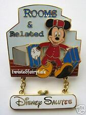 Disney Pins WDW Cast Salutes Mickey ROOMS & RELATED