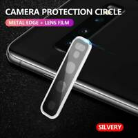 Metal Rear Camera Lens Case Protector Tempered Glass for Samsung Galaxy S10 Plus