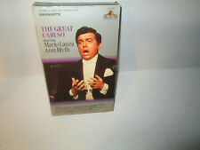THE GREAT CARUSO rare Classic vhs Big Box 1st print MARIO LANZA Ann Blyth 1951