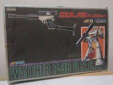 Transformers UNCLE MC-13 Megatron Walther P-38 Takara Microman Gun Robo MIB VHTF