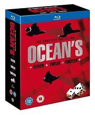 OCEANS Trilogy Complete Movie Collection Bluray ELEVEN TWELVE THIRTEEN 11 12 13