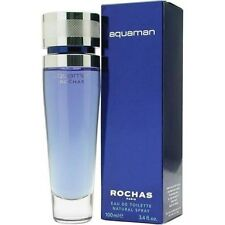 Rochas Aquaman  Eau de Toilette   ml 100 spray  Rare