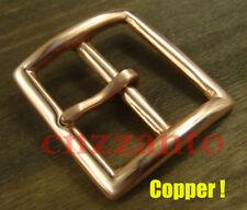 "Solid Copper Vintage Tongue Pin Hippie Belt buckle Buckles for 1.5 "" belt Z272"