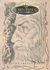 Lord of the Rings Evolution Sketch Card by Ray Dillon Gandolph