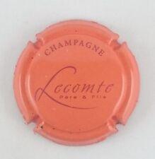 capsule champagne LECOMTE Père et fils n°16 orange RARE